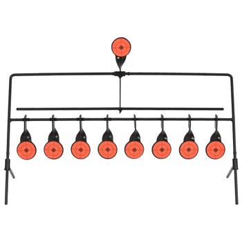 vidaXL Okretna meta s automatskim resetiranjem s 8 + 1 metom