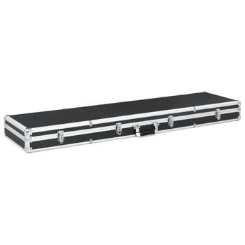 vidaXL Kutija za oružje crna 134 x 35 x 12 cm aluminijska