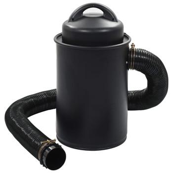 vidaXL Sakupljač prašine sa setom priključaka crni 1100 W