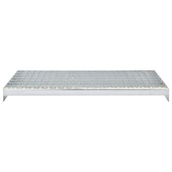 vidaXL Gazišta za stepenice 4 kom od pocinčanog čelika 1000 x 240 mm