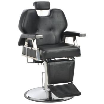 vidaXL Brijačka stolica od umjetne kože crna 72 x 68 x 98 cm
