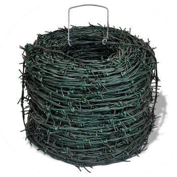 Zelena bodljikava žica, rola 100 m