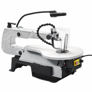 vidaXL Pila za rezbarenje sa svjetlom čelična dubina rezanja 406 mm