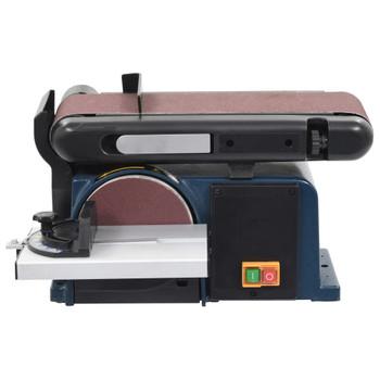 vidaXL Električna brusilica s diskom i tračna brusilica 370 W 150 mm