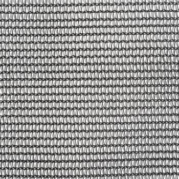 vidaXL Mreža za spremnik HDPE 3,5 x 6 m crna
