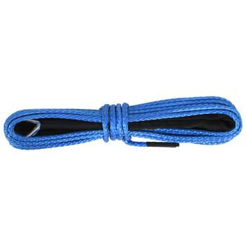 vidaXL Konop za vitlo plavi 5 mm x 9 m