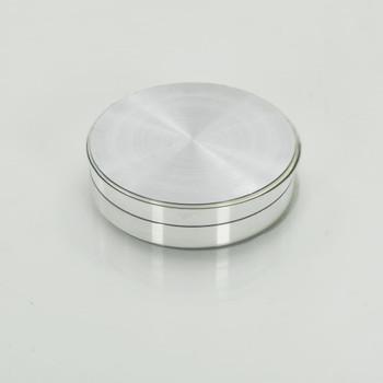 vidaXL Rotirajući pladanj za posluživanje prozirni 60 cm kaljeno staklo