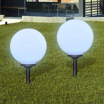 vidaXL Vrtne podne svjetiljke sa šiljkom za tlo 4 kom LED 30 cm