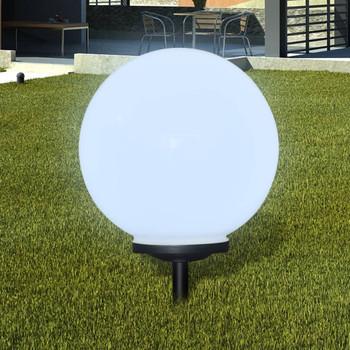 vidaXL Vrtne podne svjetiljke sa šiljkom za tlo 2 kom LED 40 cm
