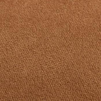 vidaXL Tabure smeđe-zlatni baršunasti
