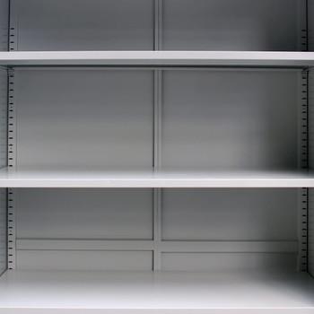 vidaXL Uredski ormar s 2 vrata čelični 90 x 40 x 180 cm sivi