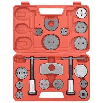 vidaXL 18-dijelni set alata za kočne diskove i čeljusti