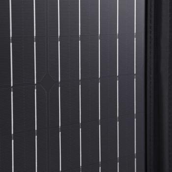 vidaXL Sklopivi punjač sa solarnim panelom 100 W 12 V