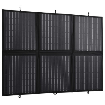 vidaXL Sklopivi punjač sa solarnim panelom 120 W 12 V