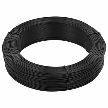 vidaXL Žica za vezanje ograde 250 m 1,4/2 mm čelična antracit