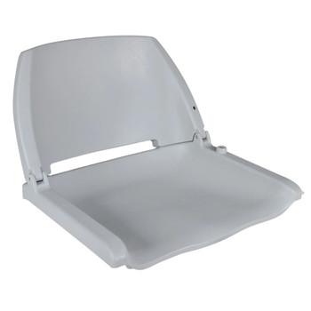 vidaXL Brodska sjedala sa sklopivim naslonom 2 kom siva 41x51x48 cm