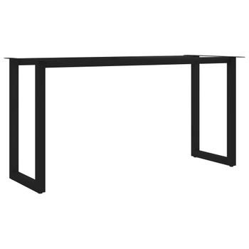 vidaXL Noge za blagovaonski stol u obliku slova O 160 x 70 x 72 cm