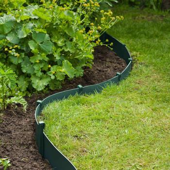 Nature vrtni granični rub 0,15 x 10 m zeleni