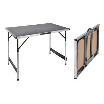 HI sklopivi stol 100 x 60 x 94 cm aluminijski
