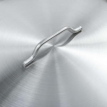 vidaXL Kuhinjski lonac 58 L 50 x 30 cm od nehrđajućeg čelika
