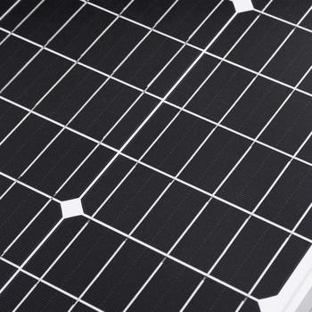 vidaXL Sklopivo postolje sa solarnim panelima 120 W 12 V