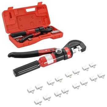 vidaXL Hidraulična kliješta za prešanje 4-6-8-10-16-25-35-60 mm²