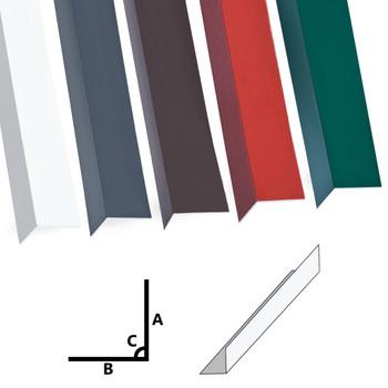 vidaXL Kutni profili od 90° 5 kom aluminijski bijeli 170 cm 100x100 mm