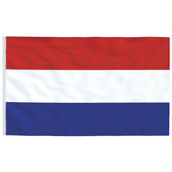 vidaXL Nizozemska zastava 90 x 150 cm