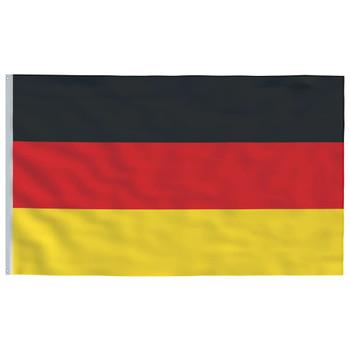 vidaXL Njemačka zastava 90 x 150 cm