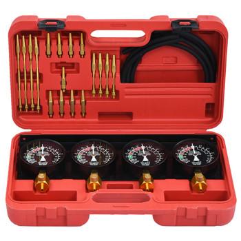 vidaXL Vakuumski set alata za mjerenje sinkronizacije rasplinjača