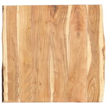 vidaXL Stolna ploča od masivnog bagremovog drva 60 x 60 x 3,8 cm