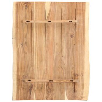 vidaXL Stolna ploča od masivnog bagremovog drva 80 x 60 x 3,8 cm