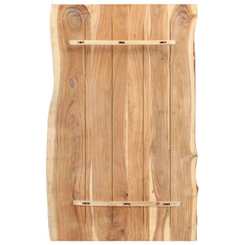 vidaXL Stolna ploča od bagremovog drva 100 x 60 x 3,8 cm