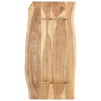 vidaXL Stolna ploča od bagremovog drva 120 x 60 x 2,5 cm