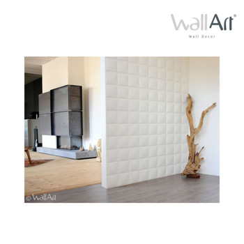 WallArt 3D zidne ploče s uzorkom kocki 12 kom GA-WA07