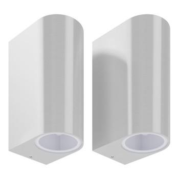vidaXL Dvosmjerne vanjske zidne svjetiljke 2 kom