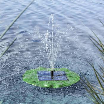 HI solarna plutajuća crpka za fontanu u obliku lotosovog lista