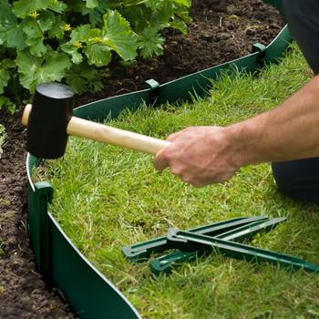 Nature vrtni klinovi za učvršćivanje 10 kom zeleni
