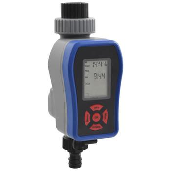 vidaXL Automatski digitalni tajmer za vodu s jednim ispustom