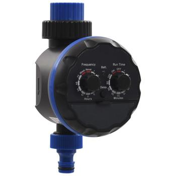 vidaXL 142-dijelni automatski set za zalijevanje kapanjem s vodomjerom