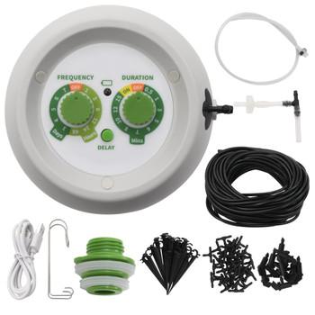 vidaXL Automatski unutarnji set za zalijevanje kapanjem s regulatorom