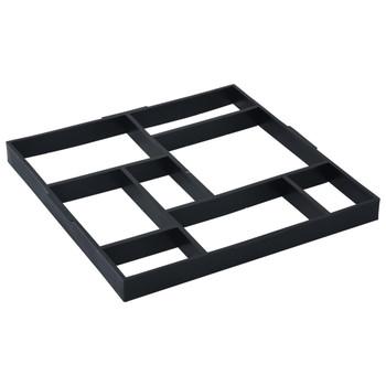 vidaXL Kalupi za pločnik 2 kom 50,4 x 50,4 x 4,3 cm plastični