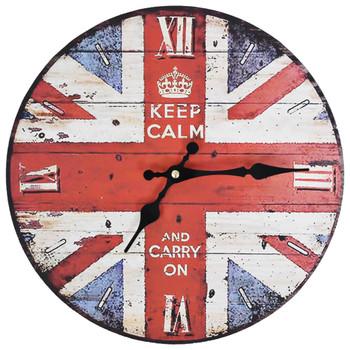 vidaXL Starinski zidni sat UK 30 cm