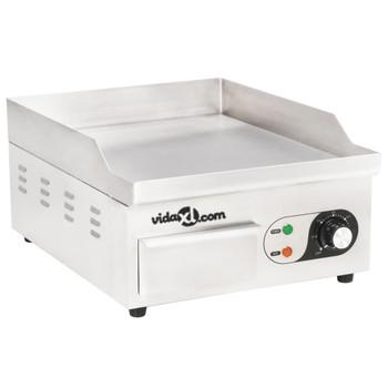 vidaXL Električni roštilj od nehrđajućeg čelika 2000 W 36 x 47 x 22 cm