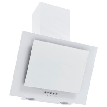 vidaXL Zidna napa 60 cm od nehrđajućeg čelika i kaljenog stakla bijela