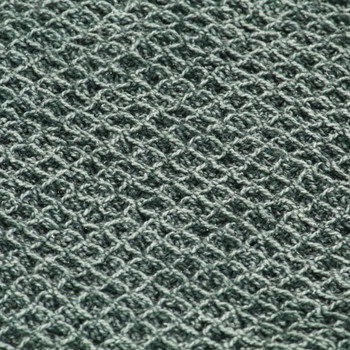 vidaXL Pamučni pokrivač 220 x 250 cm tamnozeleni