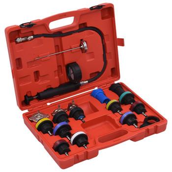 vidaXL 18-dijelni set alata za ispitivanje rashladnog sustava