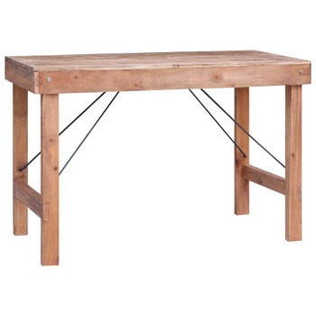 vidaXL Blagovaonski stol 120 x 60 x 80 cm od masivnog obnovljenog drva
