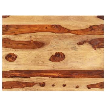 vidaXL Stolna ploča od masivnog drva šišama 15 - 16 mm 60 x 70 cm