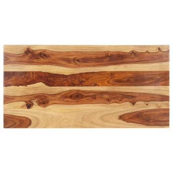 vidaXL Stolna ploča od masivnog drva šišama 15 - 16 mm 60 x 100 cm